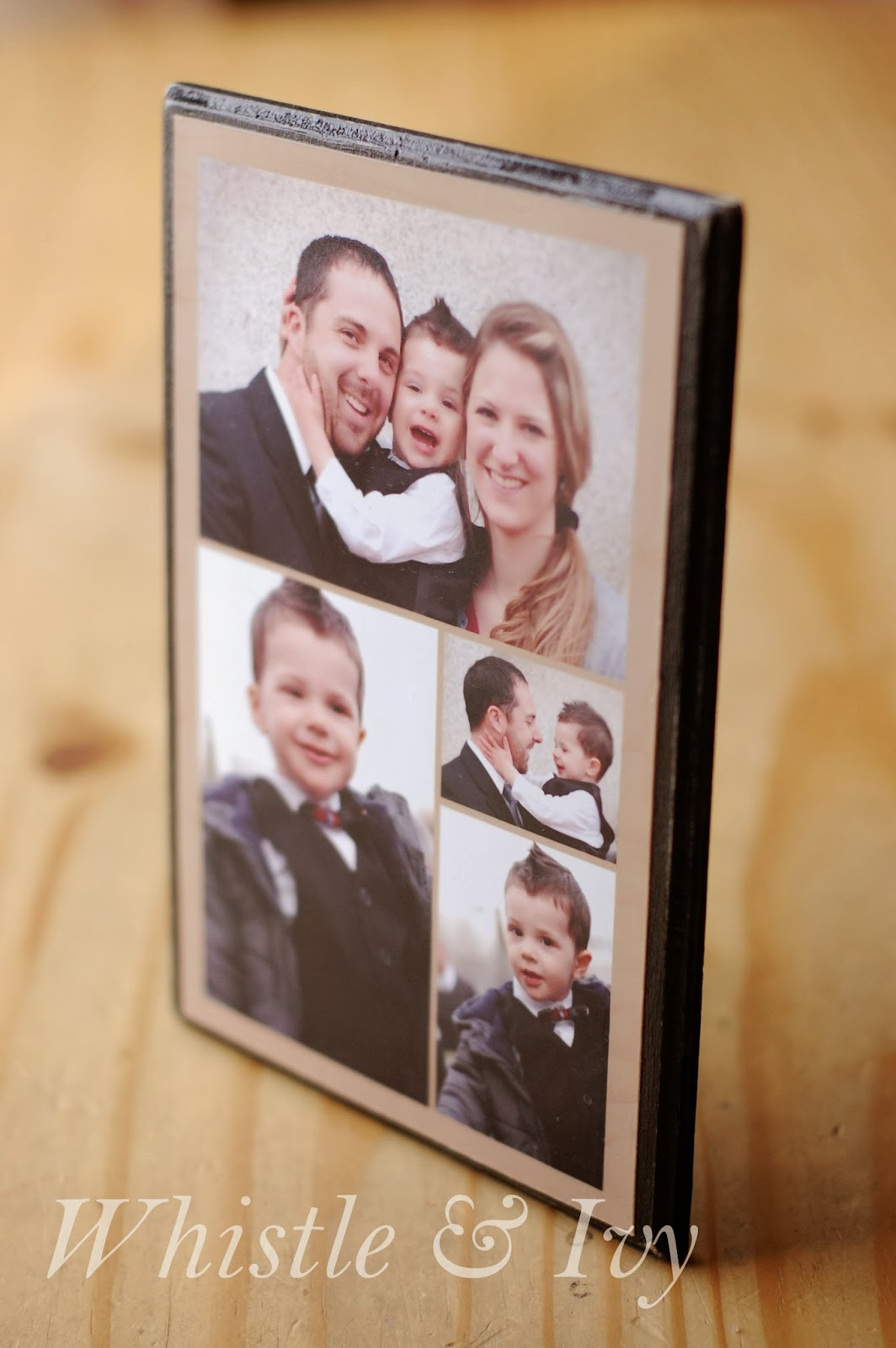 Easy Photo Collage Plaque Gift
