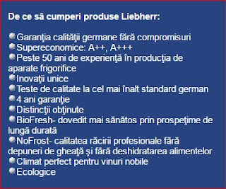 calitati frigider Liebherr