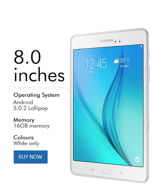مواصفات  الجهاز اللوحي Galaxy Tab A8 من سامسونج