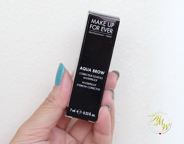 a photo of Make Up For Ever Aqua Brow Review by Nikki Tiu