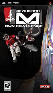 Dave Mirra BMX Challenge PSP GAME