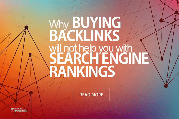 Why Buying Backlinks