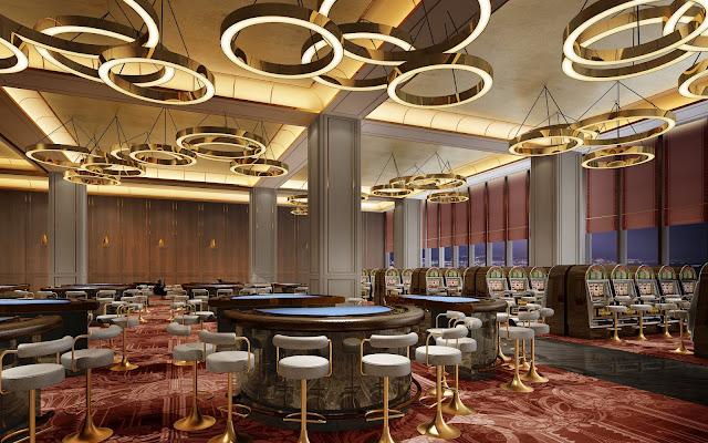 Hệ thống tiện ích Casino hiện đại tại Căn hộ LaLuna Resort Nha Trang