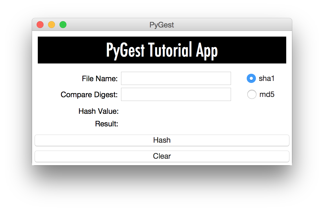 aGupieWare: PyGest: A Python tkinter Tutorial, Conclusion