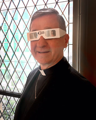 Cupich and glasses