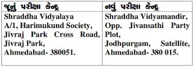 High Court Of Gujarat Exam Center Changed for Hamal, Chokidar, Liftman & Peon
