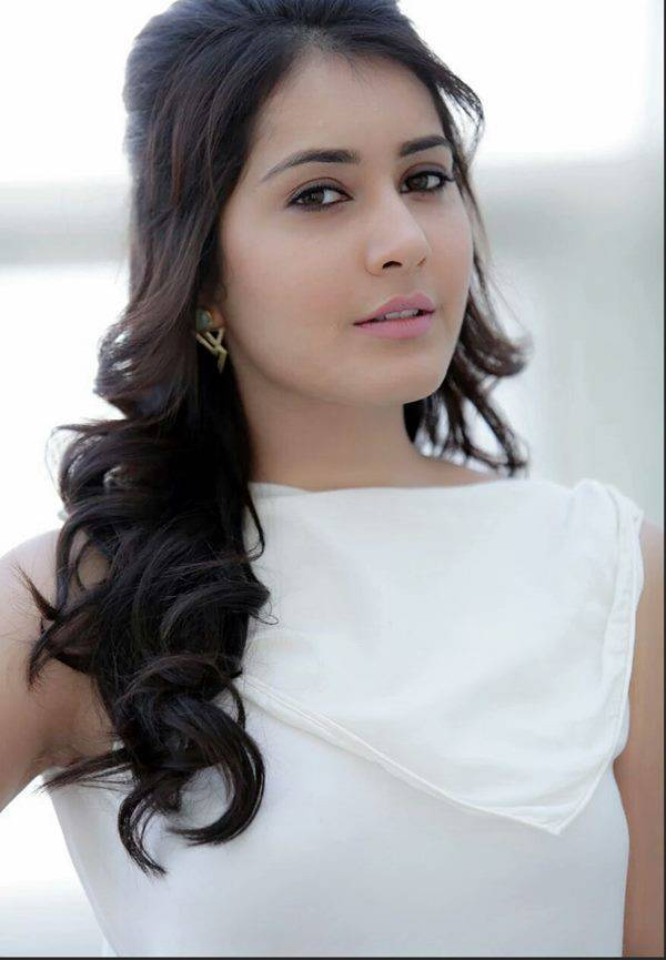 Rashi Khanna Latest Photoshoot In White Dress