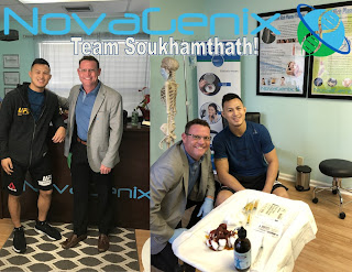 PRP and Andre Soukhamtath and NovaGenix Fight Strength Podcast Jason Burgos and Paulie Gloves MMA Fighters Boxing BJJ