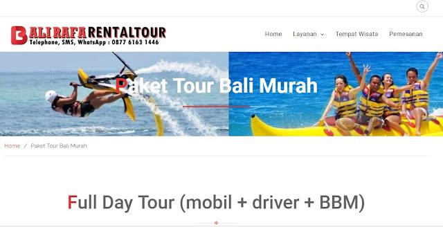 Mau Liburan? Ini Harga Paket Tour di Bali