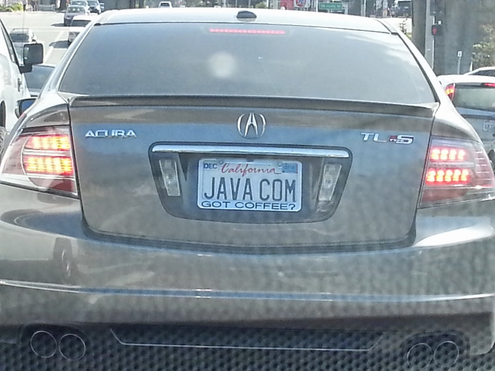 Fountainhead: Only in Silicon Valley: License Plate Sightings in the ...