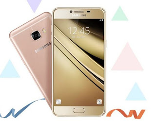 Samsung Galaxy C Series Smartphone in China