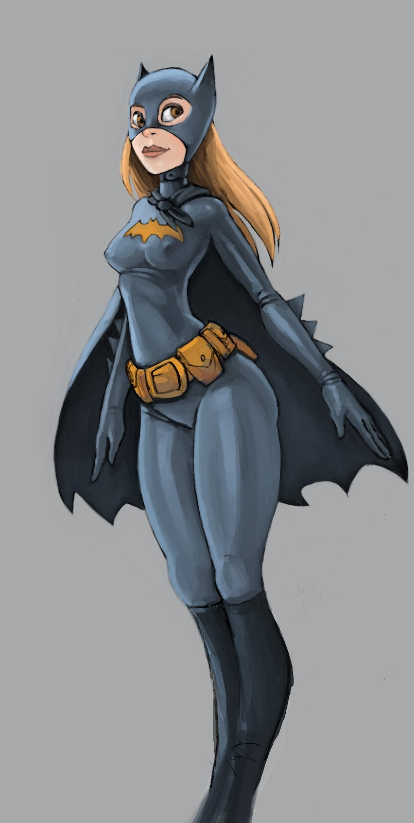 Sketches And Such Batgirl Cosplay Colour Sketches
