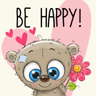 Be Happy Teddy