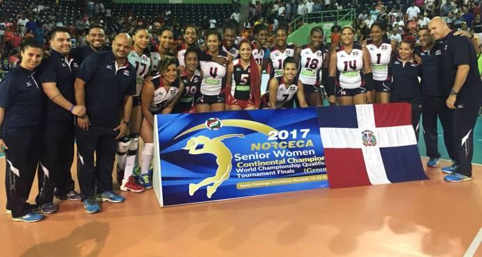 """""""Las Reinas del Caribe"""" consiguen boleto para el Mundial de Japón en 2018"""