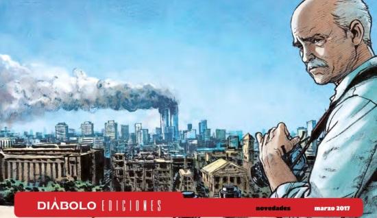 Novedades de Diábolo Ediciones para Marzo de 2017