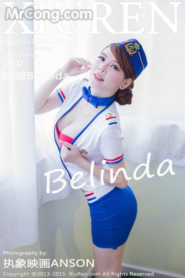 XIUREN No.423: Người mẫu Belinda (妮婉) (66 ảnh)