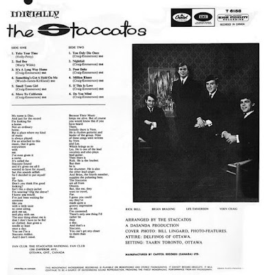 The Staccatos – Initially (1965)