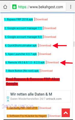 Cara Bypas FRP Akun Google Sony Xperia All Version Android V. 8.0.0/8.1.0/7.0/7.1.1/7.1.2