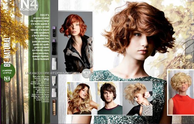 Evos Parrucchieri collezione autunno-inverno 2013-14: BE NATURAL