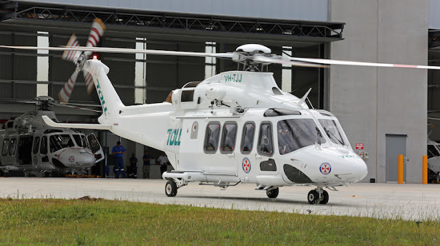 NSW RADIO AND COMMUNICATIONS  By Michael Bailey SOUTHCARE GETS NEW HELICOPT