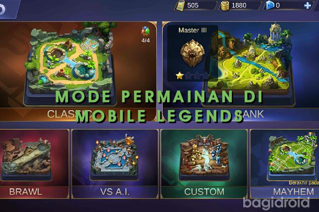Daftar Mode Permainan di Mobile Legends