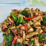 Lip smacking Sweet and Sour Chicken Stir-Fry (with crunchy veggies) is a delicious, quick dinner for those busy days - you can have dinner on the table in 30 minutes - start to finish