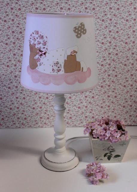 pantallas-lámparas-infantiles-personalizadas-habitaciones-infantiles-pintadas-mano