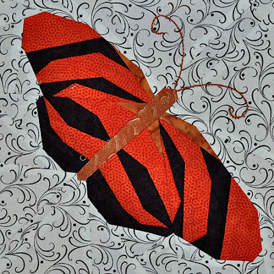 Orange Gebänderter Schmetterling