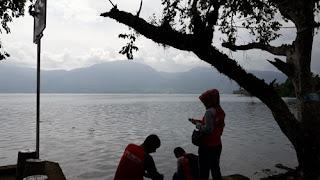 Dari Banjarmasin Mengintip Keindahan Danau Singkarak, Sumbar 2018