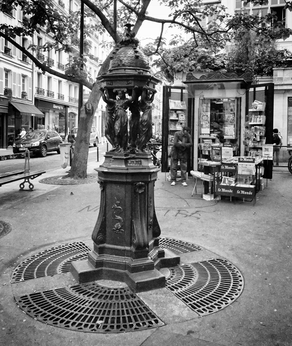 Paris fvdv: iconen van parijs