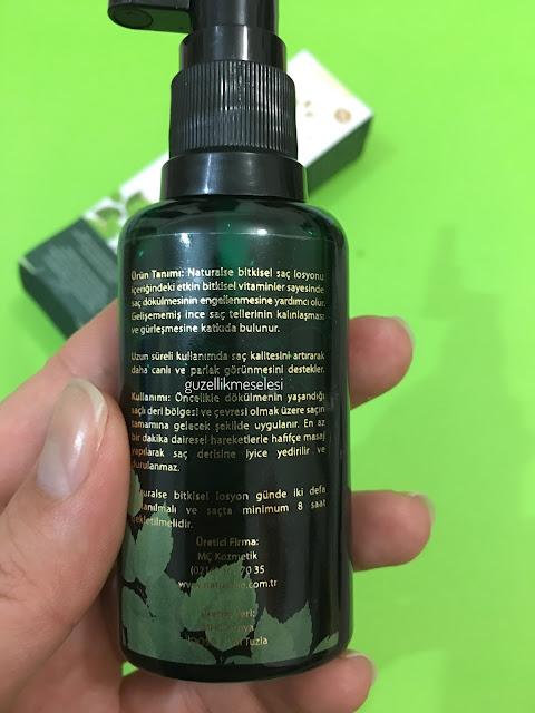 Naturalse Saç Güçlendirici Losyon