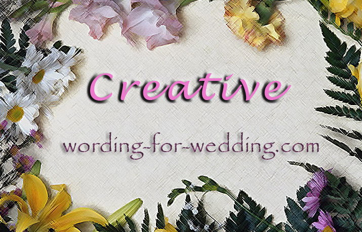 Unique Wedding Invitation Wording: Creative Samples For Wedding Invites Wording For Your