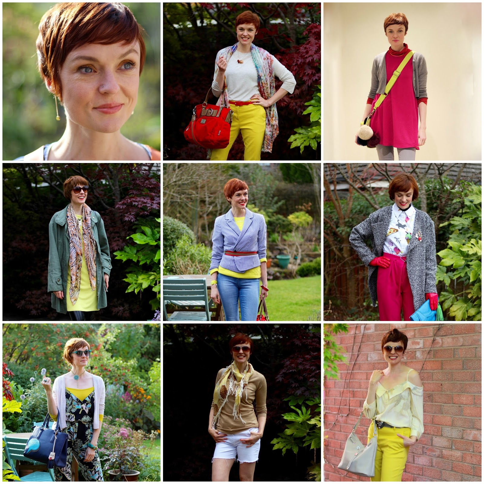 5 ways to Wear Any Bold Colour |  Fake Fabulous | Yellow, over 40!