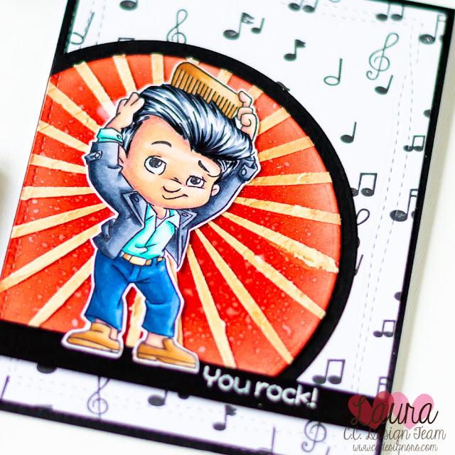 Masculine Card feat CC Designs Rocker Boys