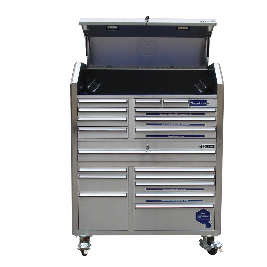 Stainless Steel Tool Cabinet