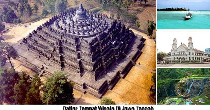 Daftar Tempat Wisata Di Jawa Tengah
