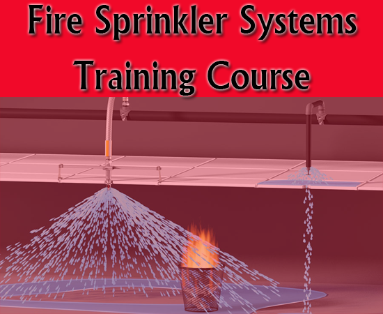 Fire Sprinkler Systems Design Course  - Training course for the design of fire sprinkler systems and hydraulic calculations- free course