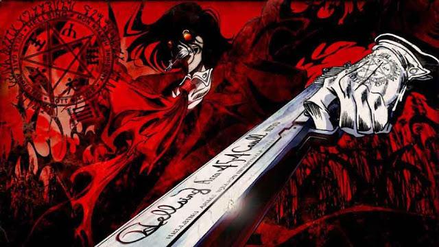 Hellsing Ultimate - Anime Mirip Tokyo Ghoul