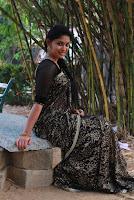 Tamil Actress Sri Priyanka Pos in Saree at Pichuva Kaththi Tamil Movie Audio Launch  0011.JPG
