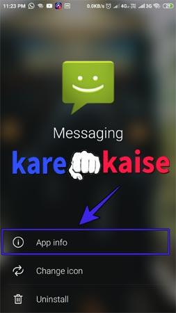 message-nahi-ja-raha-hai-to-app-info-me-jaye