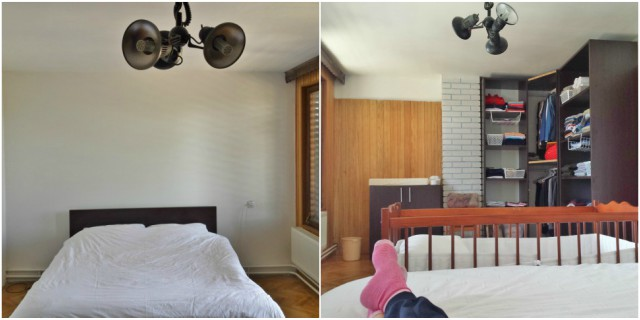 Spavaća soba - napredak