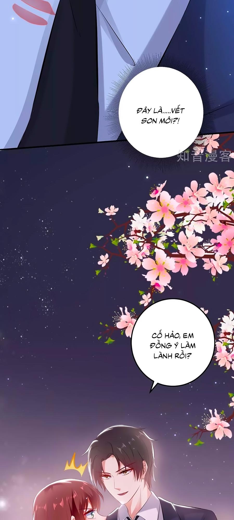 Thiên Tài Khốc Bảo: Tổng Tài Sủng Thê Quá Cường Hãn chap 73 - Trang 30