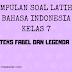 Bahasa Indonesia Kelas 7 - Soal Latihan Teks Fabel dan Legenda