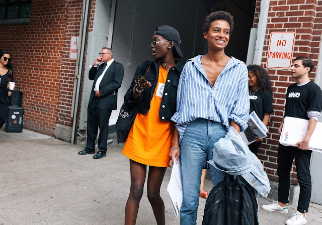 New York Fashion Week SS18 Street Style