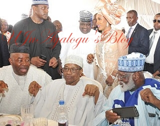 "Described As ""Community of Looters""; 26 Private Jets, Political Bigwigs Flood IBB Daughter's Wedding At Minna"