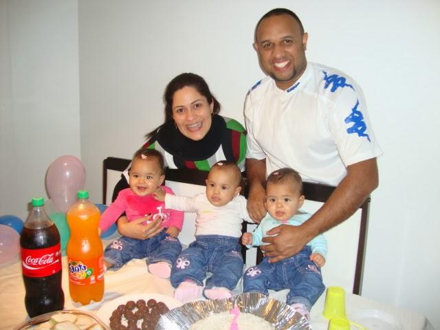 Mãe de trigêmeas, Michelle Passos conta a sua história