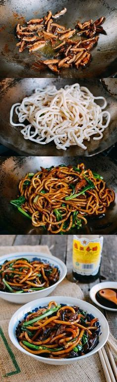 Shanghai Fried Noodles: our authentic take on a popular Chinese dish. This recipe is so simple to make, and it will be on the table within 15-20 minutes.