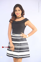 Actress Mi Rathod Pos Black Short Dress at Howrah Bridge Movie Press Meet  0007.JPG
