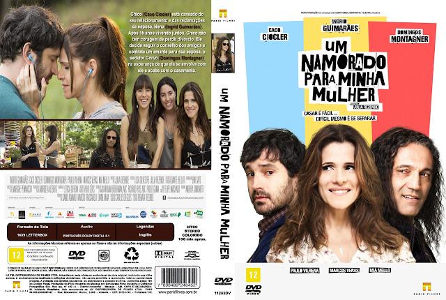 Capa DVD Um Namorado Para Minha Mulher