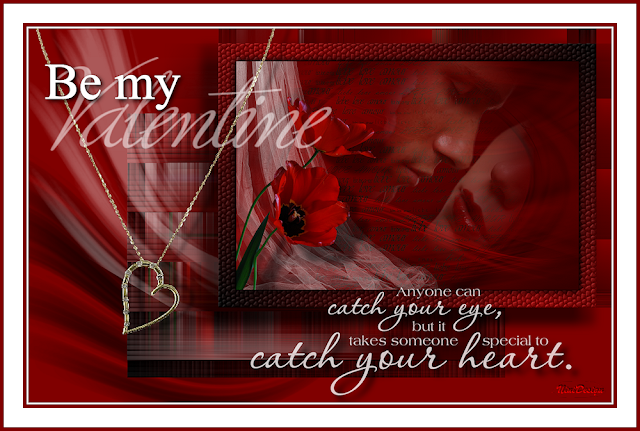 Anyone can catch my eye but it takes someone special to catch in my heart. Be my valentine.